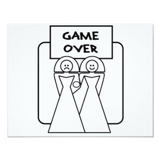 """Game Over"" Marriage (Homosexual) Card"
