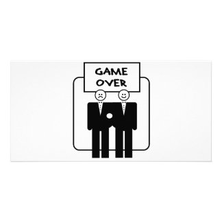 """Game Over"" Marriage (Homosexual) Photo Card"