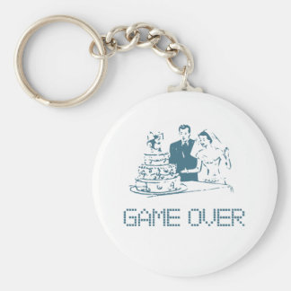 Game Over (Marriage) Keychain