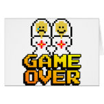 Game Over Marriage (Lesbian, 8-bit) Greeting Card