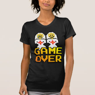 Game Over Marriage (Lesbian, 8-bit) Tees
