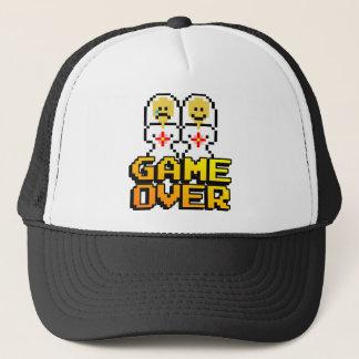Game Over Marriage (Lesbian, 8-bit) Trucker Hat