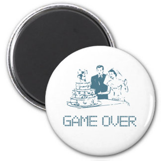 Game Over (Marriage) Magnets
