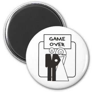 Game Over Marriage Magnet