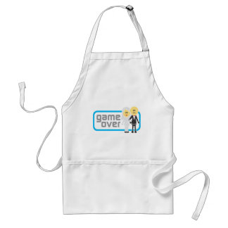 Game Over Marriage (Miis) Aprons