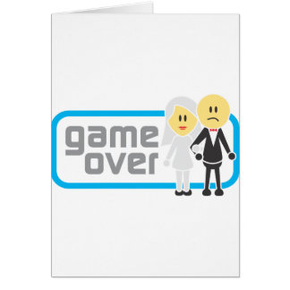 Game Over Marriage (Miis) Cards