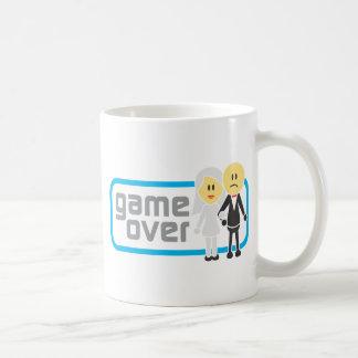 Game Over Marriage (Miis) Classic White Coffee Mug