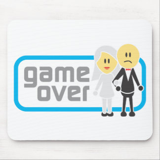 Game Over Marriage (Miis) Mousepads