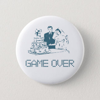 Game Over (Marriage) Pinback Button