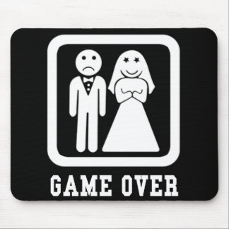 Game Over Mousepads