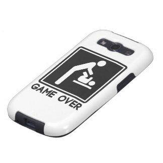 Game Over New Baby for Parent Dad Galaxy SIII Case