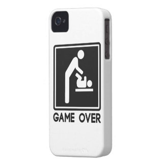 Game Over New Baby for Parent Dad Case-Mate iPhone 4 Case