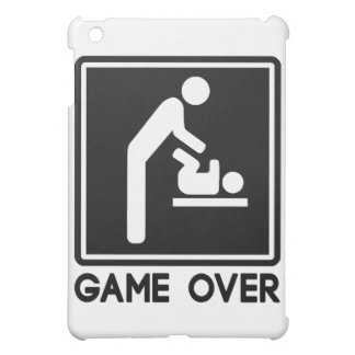 Game Over New Baby for Parent Dad Cover For The iPad Mini