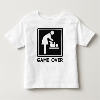 Game Over New Baby for Parent Mom T Shirts