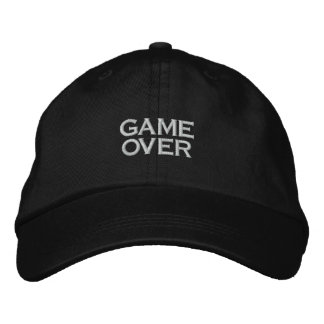 GAME OVER, PC GAME PLAYER CAP
