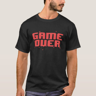 Game Over Pixel Text T-Shirt