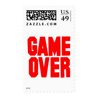 Game over postage stamps