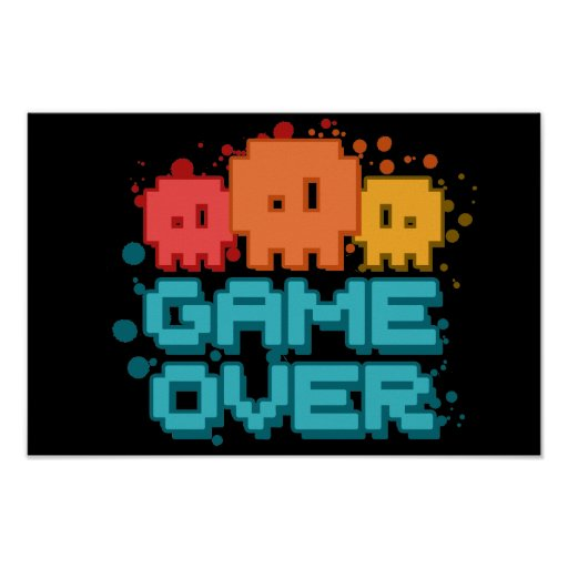 Game Over Posters