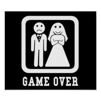 Game Over Print
