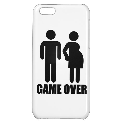 Game over Pregnancy iPhone 5C Case