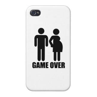 Game over Pregnancy iPhone 4/4S Cases