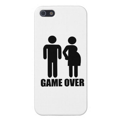 Game over Pregnancy Case For iPhone 5