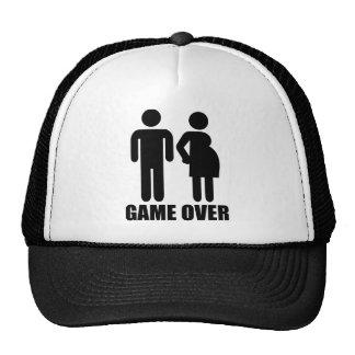 Game over Pregnancy Trucker Hat