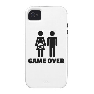 Game over pregnant baby iPhone 4 case