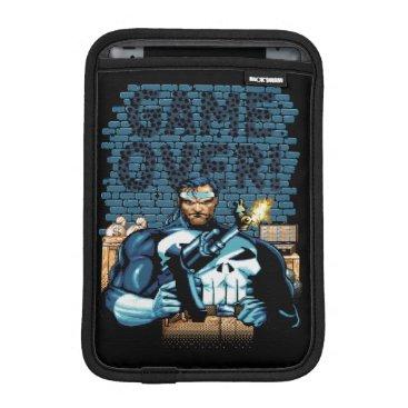 """""""Game Over"""" Punisher Video Game Sprite Screen iPad Mini Sleeve"""