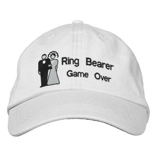 Game Over - Ring Bearer Embroidered Hats