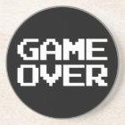 Game Over Sandstone Coaster
