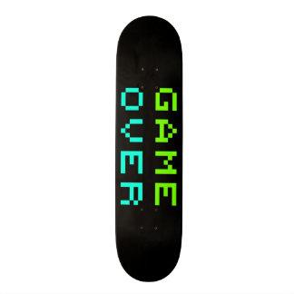 Game Over Skateboard Deck