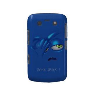 Game Over Smiley Emoticon Face Blackberry Bold Blackberry Bold Cover