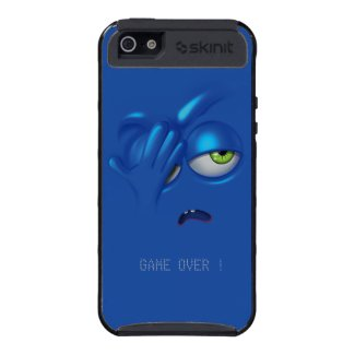 Game Over Smiley Emoticon Face Cases Cases For iPhone 5