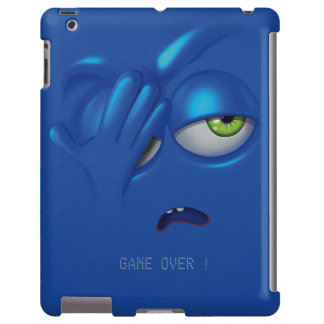 Game Over Smiley Emoticon Face iPad Case