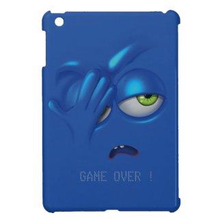Game Over Smiley Emoticon Face iPad Case iPad Mini Case