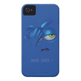Game Over Smiley Emoticon Face iPhone 5 Case