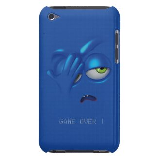 Game Over Smiley Emoticon Face iPod Touch iPod Touch Cases