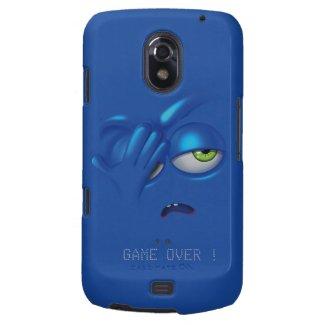 Game Over Smiley Emoticon Face Samsung Nexus Galaxy Nexus Cover