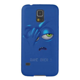 Game Over Smiley Emoticon Face Samsung S5 Cases For Galaxy S5