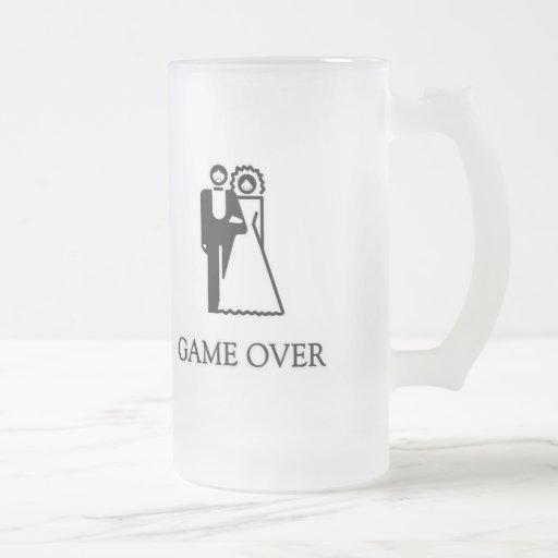 Game Over T Shirt Coffee Mug