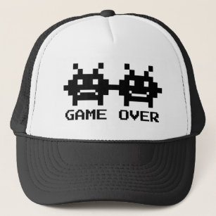 428494f1f15 GAME OVER trucker hats for bachelor party groom