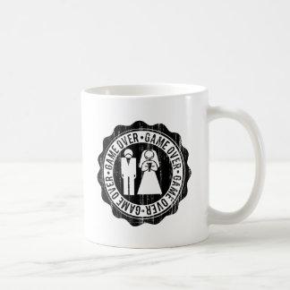 game over used coffee mug