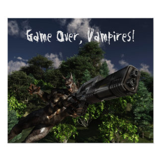 Game Over, Vampires! Poster