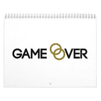 Game over Wedding rings Calendar