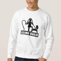 Game over wedding sweatshirt