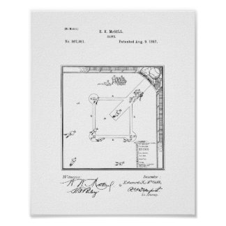 Game Patent Posters