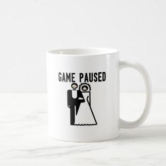 Game Paused Mugs