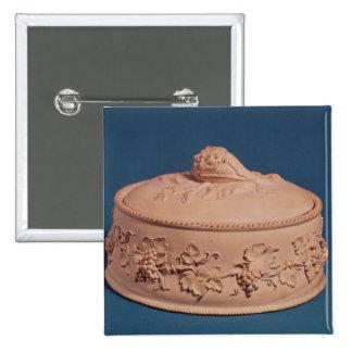 Game Pie Dish, c.1820 Pinback Button