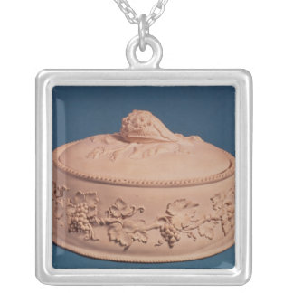 Game Pie Dish, c.1820 Silver Plated Necklace